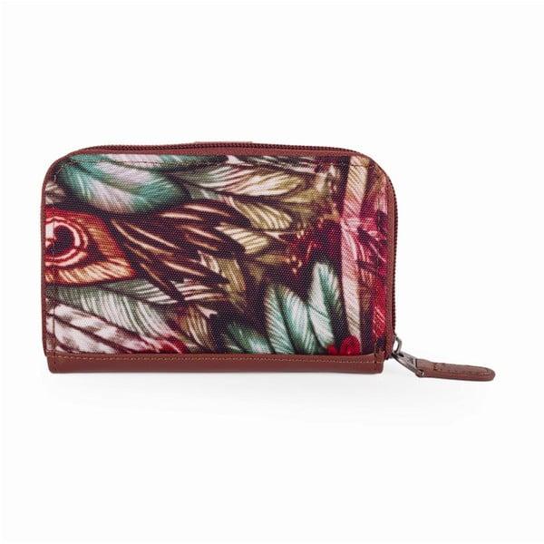Farebná peňaženka s exotickými vzormi Lois, 14 x 9 cm
