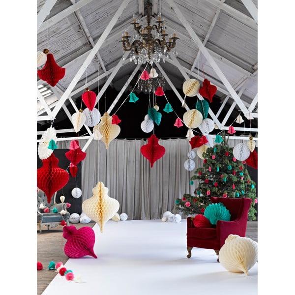 Sada 3 závesných dekorácií Talking Tables Flamingo