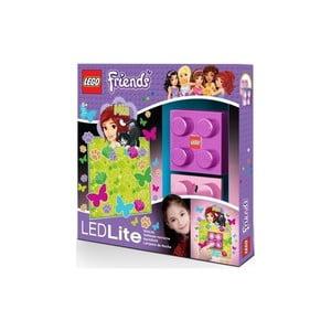 Detské nočné svetlo LEGO Friends Mia