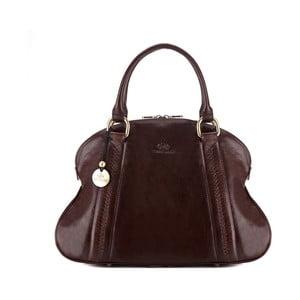 Kožená kabelka Venus Brown