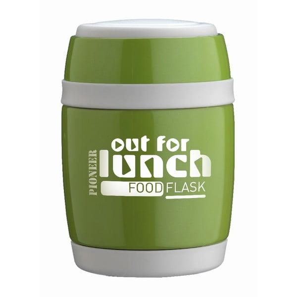 Nádoba na polievku s lyžicou Green Lunch, 480 ml