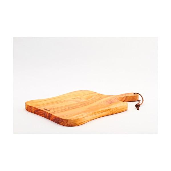 Doska na krájanie z olivového dreva Rustic, 41x25 cm