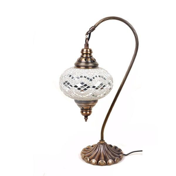 Sklenená lampa Fishing VIII, 17 cm