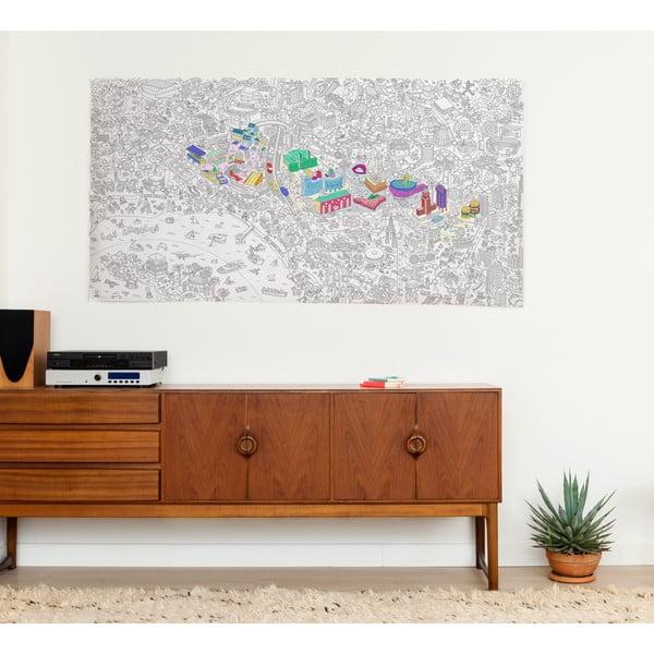 Maľovanka Los Angeles XXL (180 x 100 cm)