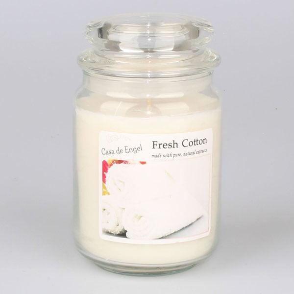 Vonná sviečka s vôňou čerstvej bavlny Dakls
