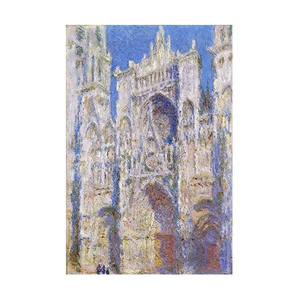 Obraz Claude Monet - Rouen Cathedral West Facade, 45x30 cm