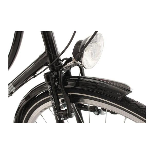 "Bicykel Tussaud Black Bellefleur 28"", výška rámu 54 cm, 3 prevody"