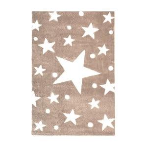 Béžový detský koberec Happy Rugs Star Constellation, 120x180cm