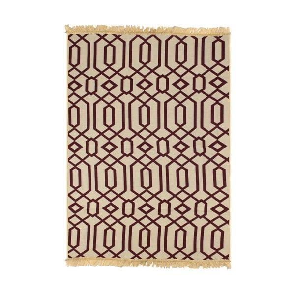 Červeno-béžový koberec Ya Rugs Kenar, 120x180cm