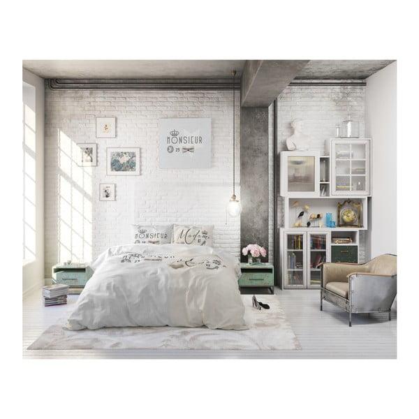 Bavlnené obliečky na dvojlôžko Sleeptime French, 240 × 220 cm