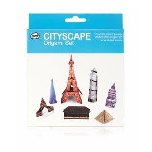 Set origami skladačiek npw™ Origami Cityscape