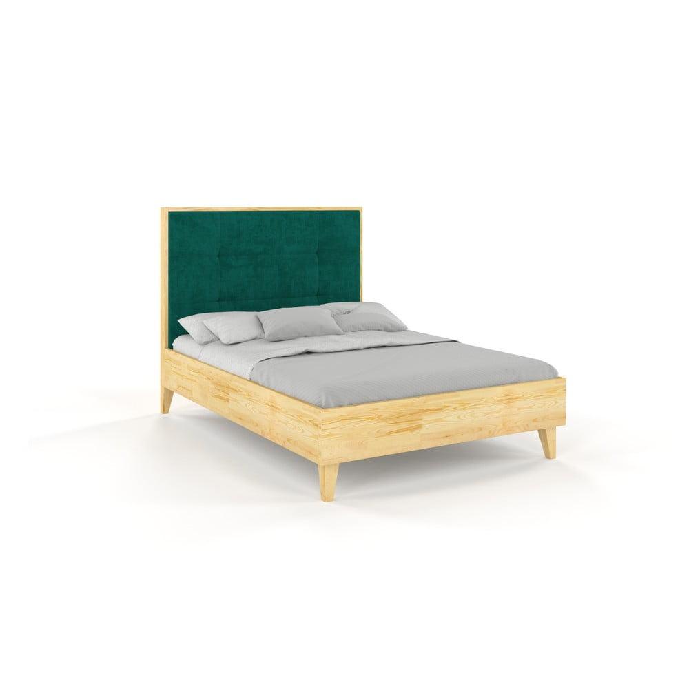 Dvojlôžková posteľ z borovicového dreva Skandica Frida, 180 x 200 cm