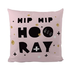 Vankúš Hip Hop Hooray, 50x50 cm