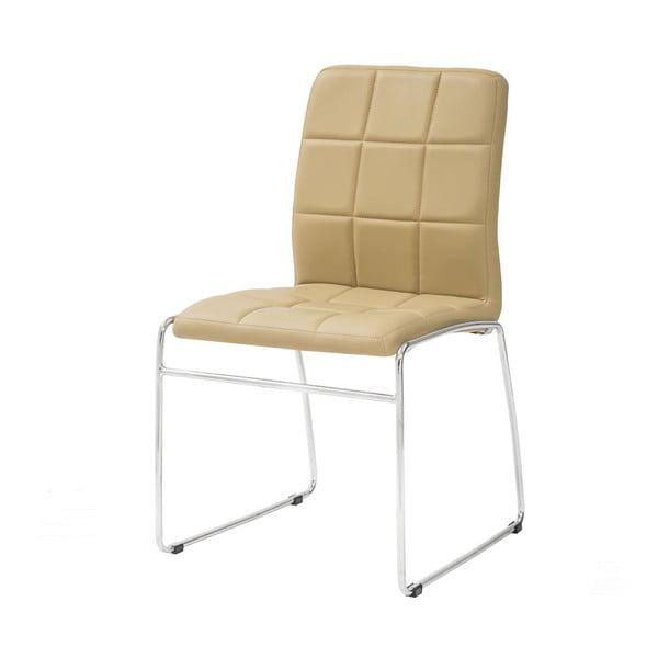 Jedálenská stolička Kid, béžová