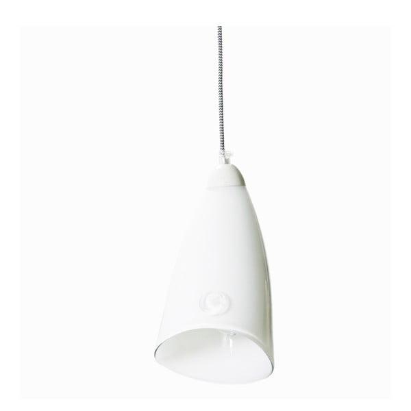 Stropné svetlo Glass, biele