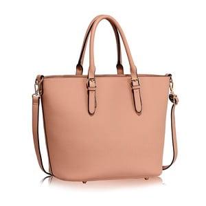 Púdrovoružová kabelka L&S Bags Remaima