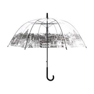 Transparentný dáždnik Paris