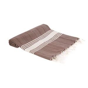Hammam osuška z ručne tkanej bavlny ZFK Elna, 180 x 100 cm