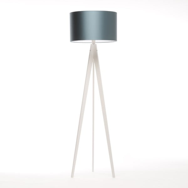 Stojacia lampa Artist Ice Blue/White Birch, 125x42 cm