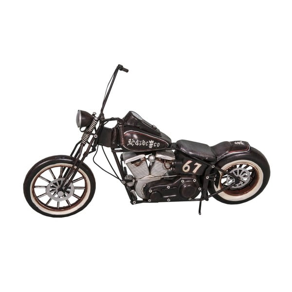 Dekoratívna motorka Antic Line Black Motocycle