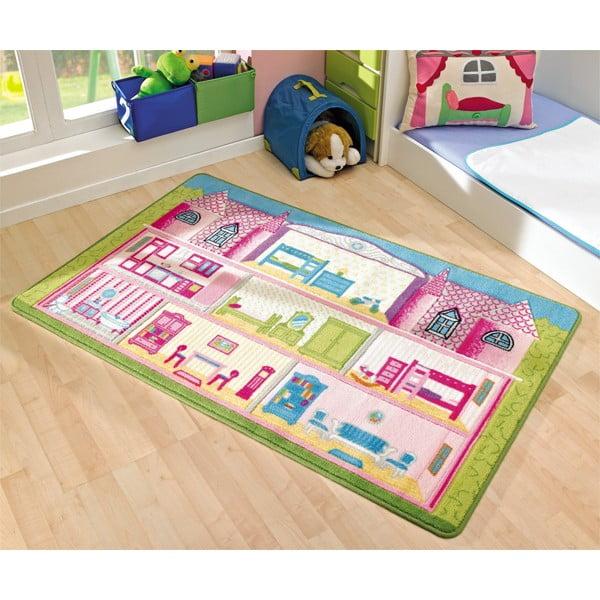Detský koberec Game House, 100x160 cm