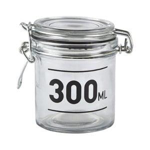 Sklenená dóza s vekom KJ Collection Jar, 300ml