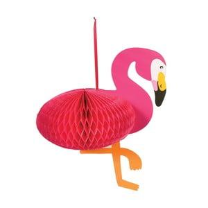 Papierová dekorácia Rex London Flamingo Honeycomb