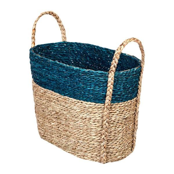 Ručne vyrábaný kôš z morskej trávy a'miou home Arthu, šírka 42 cm