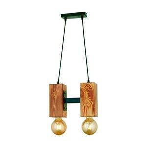 Závesné svietidlo z hrabového dreva Carina Dos