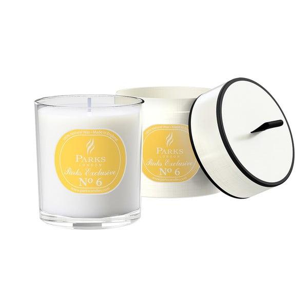 Sviečka s vôňou limetky a citrónu Parks Candles London Exclusive, 50hodín horenia