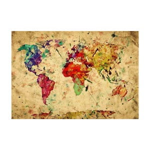 Vinylový koberec World, 52x75cm
