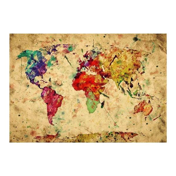 Vinylový koberec World, 52×75cm