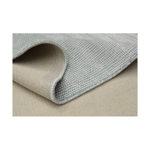 Ručne tuftovaný svetlomodrý koberec Spike, 160x230 cm