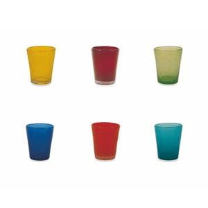 Sada 6 farebných pohárov Villa d´Este Marea Multi