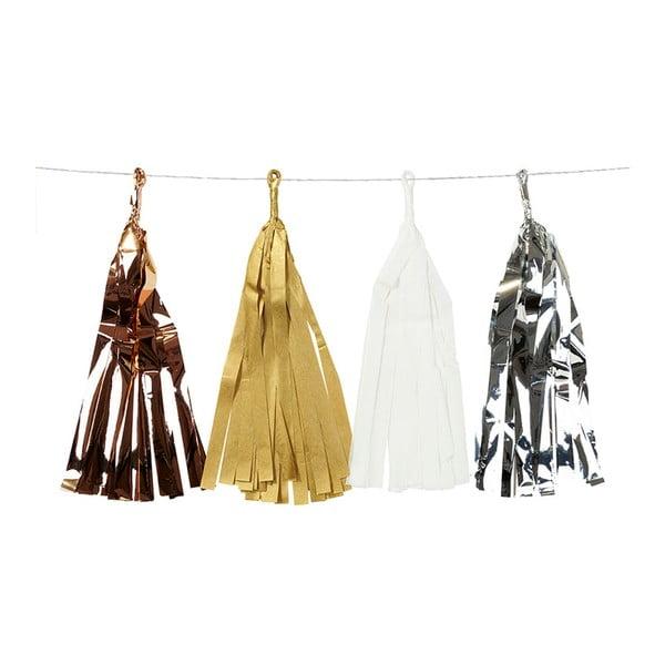 Dekoratívna reťaz so strapcami Talking Tables Decadent