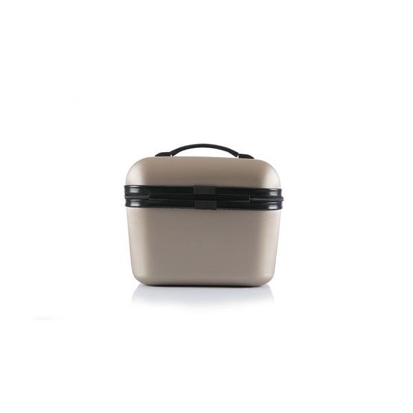 Cestovná taška Brand Developpement Vanity, zlatá