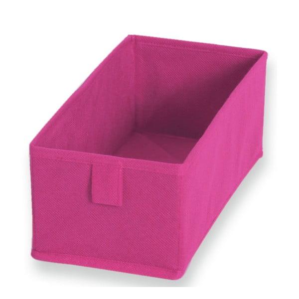 Sada 2 ružových textilných boxov JOCCA, 28×13 cm