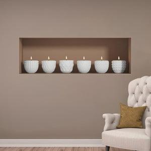 3D samolepka na stenu  Ambiance Candles