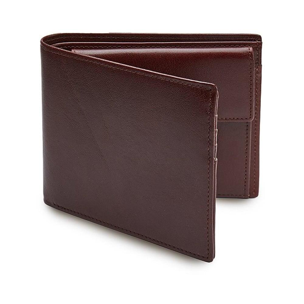 19f6517eaba5 Tmavohnedá pánska peňaženka s priehradkou na drobné ANTORINI Elite ...