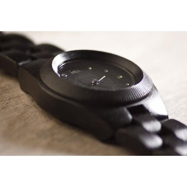 Dámske drevené hodinky Odyssey Black