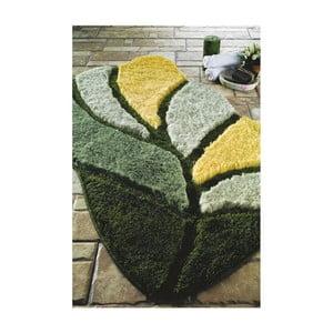 Zelená predložka do kúpeľne Confetti Bathmats Arsus, 60x100cm