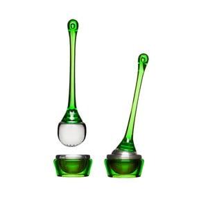Čajové sitko s miskou Sagaform, zelené