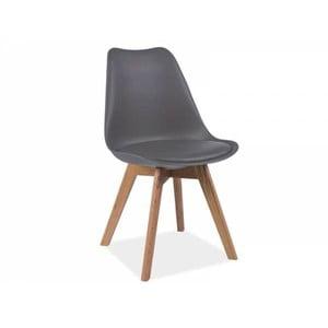 Sivá stolička Signal Kris