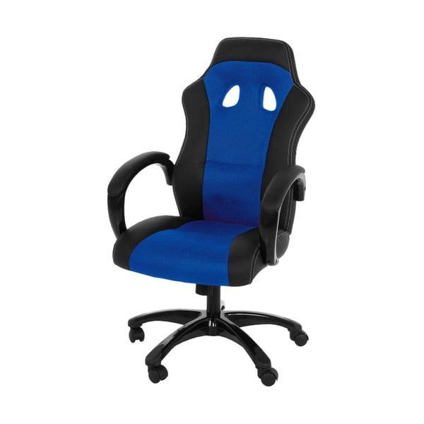 Modro-čierna kancelárska stolička na kolieskach Actona Major