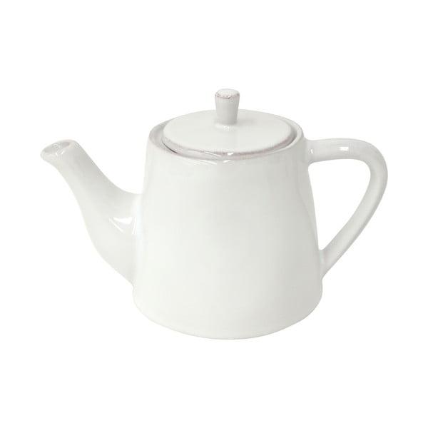 Keramická kanvica na čaj Lisa 500 ml, biela