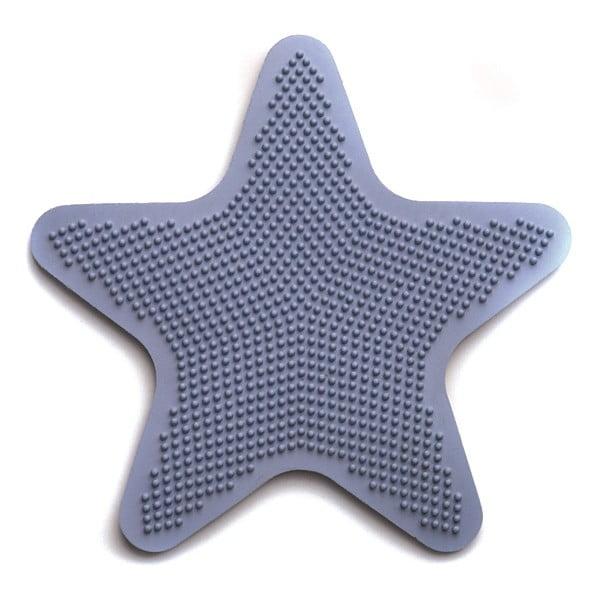 Sada 6 dekoratívnych podložiek do kúpeľne Star Blue