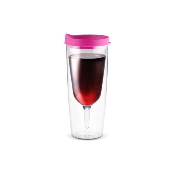 Termoska Vino 2 Go, ružová