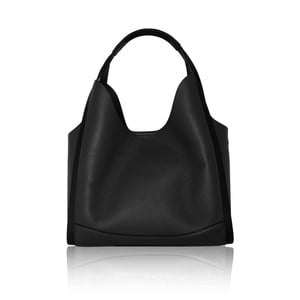 Čierna kožená kabelka Maison Bag Giade