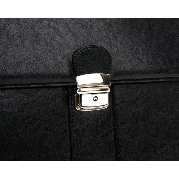 Pánska taška Solier S21, čierna