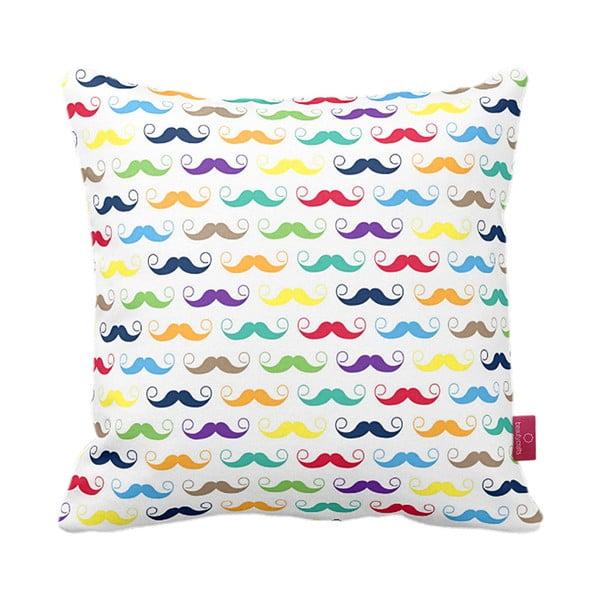 Vankúš Moustache, 43x43 cm